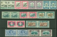 EDW1949SELL : SOUTH AFRICA 1933-39 Scott #B1-11. 3 Cplt sets VF Mint OG Cat $172