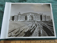 TEANECK ARMORY almost done New Jersey NJ ORIGINAL 1936 Dblwght Linenbacked 8x10