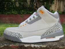 015bd3e368d4ed DS NIKE AIR JORDAN III COOL GREY LS RETRO sz 10 bred royal off white cement