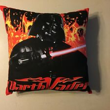 New Science Fiction Star Wars Darth Vader With Saber Complete Throw Pillow