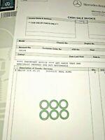 Genuine Mercedes-Benz W905 W211 W210 Fuel Pipe Green Seals O-Ring 6019970645 X6