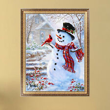 5D Diamond Painting Christmas Snowman Embroidery DIY Cross Stitch Home Decor