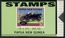 Papua New Guinea 1994 2K10 Historical Cars Booklet SG# SB10 NH