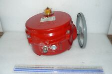 BRAY 70-0201-113A0-536/B BUTTERFLY VALVE ELECTRIC ACTUATOR 2000 IN/LBS 120V