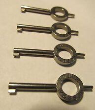 4 NEW GENUINE SMITH & WESSON 31136 HANDCUFF KEYS DOUBLE LOCK M100 M103 110 M300