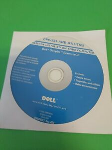 Dell Inspiron System Software CD - Drivers & Utilies