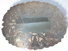 ATQ WALLACE Arthur Everts  Silver Plated Trivet/ Hot Plate Coaster Oval 7310