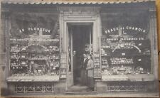 1910 Advertising Postcard: Sponge Shop - Eponges Au Plongeur & Perfume - Belgium