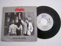 SP 45 TOURS VINYLE , THE STRANGLERS , NICE IN NICE . VG - / EX .
