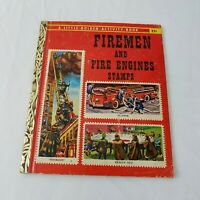 Little Golden Book Firemen and Fire Engines Stamps 1959