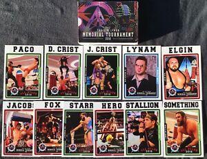 (11) 2018 AAW Wrestling Set Break Rookie Card Lot Chris Hero + More WWE NXT AEW
