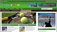 TENNIS STORE & WEBSITE WITH AMAZON AFFILIATE Installation + Free Hosting