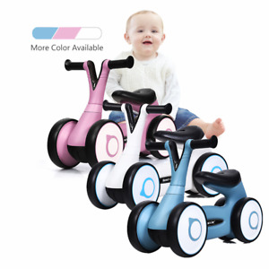 Kid Balance Bike Baby Walker Push Ride On Toy Toddler Tricycle For 1-3 Years Old