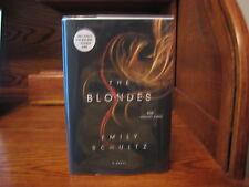 The Blondes   Emily Schultz   1st HC     Thomas Dunne 2015   Fine Unread