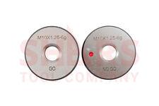 SHARS M10 x 1.5 GO NO-GO THREAD RING GAGE 2PCS SET NEW