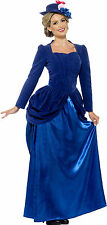Victorian Vixen Deluxe Adult Womens Smiffys Fancy Dress Costume - UK 8-10