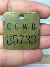 AM RY S CO NEW YORK CCWB Car Cards Freight Train Tag American Railway Supply Co