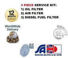 Per TOYOTA HILUX 2.4 D ln65 2L 1984-1988 NUOVO Servizio Kit Aria Olio Filtro Carburante