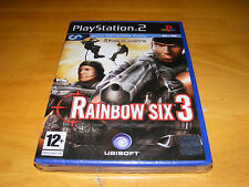 Tom Clancy's Rainbow Six 3 for SonyPlaystation PS2 (New Factory Sealed)