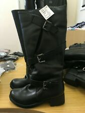 SOLE DIVA  buckle Boots standard calf uk size 8   brand new