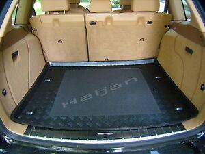 Kofferraumwanne Antirutschmatte für Ford Focus Laderaumwanne Gummi Schwarz