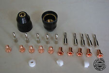 25pcs Thermal Dynamics PCH-M25 Air Plasma Cutter Nozzle 9-4476 9-6006 Electrode