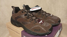 Ryka Brown Water Resistant Suede and Mesh Sport Walking Shoes  7.5 M NIB A27734