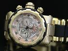 Invicta Mens Reserve CAPSULE Rose Tone Swiss Made Chronograph Gold Watch 80304