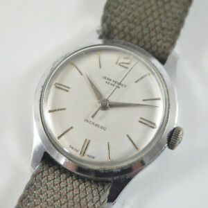 Jean Perret Genéve - Incabloc 203 25 - Armbanduhr - Vintage Watch - Swiss Made