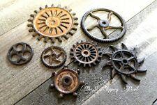 Clock Gears Clock Parts Rusty Metal Gears Steampunk Gears Assorted Gears