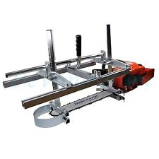 "Holzfforma Portable Chainsaw Mill Planking Milling From 18"" to 48"" Guide Bar"