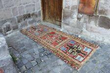 """Vintage Handmade Turkish Nursery Oushak Area Rug 6'4""""x2'7"""""""
