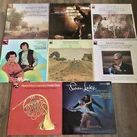 HMV 8 x Classical Vinyl Job Lot (ASD 271 1140 2563 2826 2926 2959 2960 3763)
