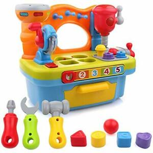 Imports Little Engineer Multifunctional Kids Musical Learning Tool Workbench