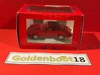 TONKA POLISTIL RED PORSCHE 911 CABRIOLET DIECAST MODEL CAR SCALE 1:25 BOXED