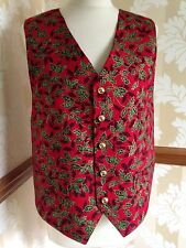MENS WAISTCOAT-HANDMADE TO FIT YOU-CHRISTMAS *CHECK DELIVERY TIME