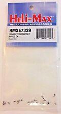 HELI-MAX Complete Screw Set Novus CX HMXE7329 NEW RC Part