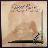 PROMO ~  VIKKI CARR The Ways To Love A Man LP UNITED ARTIST ss MINT