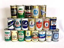 Canada Beer Can Lot of 20 Steel Pt 341 ml Labatt Schooner Rallye Heidelberg (2)