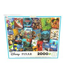 """Disney Pixar 2000 Piece Puzzle Ceaco 38"""" X 26"""" Jigsaw Nemo Toy Story Wall-E Bugs"""