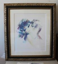 Shan Merry RETROUVAILLES Framed Seriolithograph Signed #S101