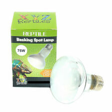 UVA Reptile Heat Lamp 75 Watt Bulb Basking Light xyzReptiles