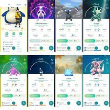 Pokémon Account Go level 40   42 Shiny   75 Legendary  62, 4*Pokemon (Rare)