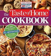 Taste of Home Cookbook 4th Edition with Bonus - BRAND NEW!