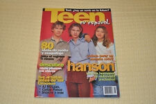 Mexico Teen Magazine Featuring Hanson on the cover 2000!