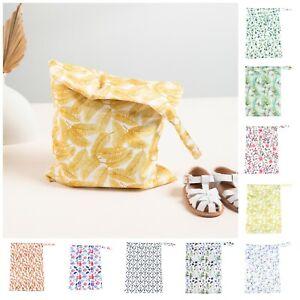 Waterproof Wet Bag Baby Kids Nappy Cloth Diaper Swim 30 x 40cm Single Zip Large