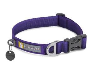 Ruffwear Front Range Dog Collar In huckleberry Blue Large NWOT