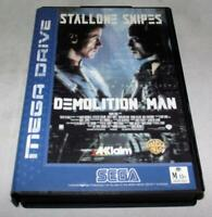 Demolition Man Sega Mega Drive PAL *Complete*