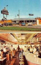 FROST DINER Warrenton, Virginia Roadside Restaurant ca 1950s Vintage Postcard