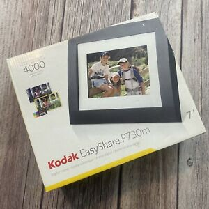 """Kodak EasyShare P730 7"""" Digital Picture Frame Brand New 4000 Pictures"""